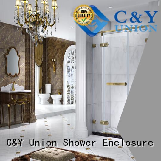firm frameless shower cubicles for shower room