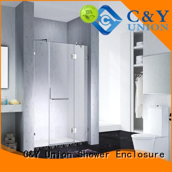 elegant frameless shower cubicles for shower room