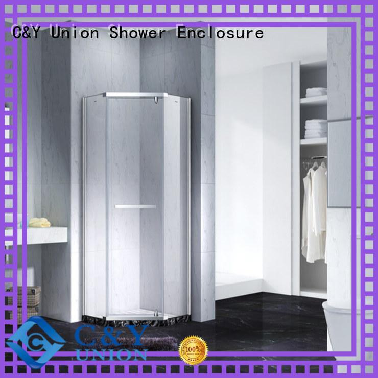 fashion frameless glass shower doors shower screen bathtub