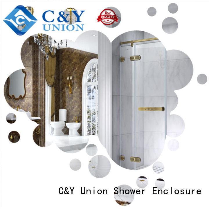 elegant frameless glass doors shower panels for bathtub