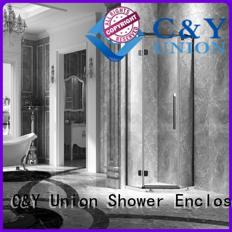 practical frameless shower enclosure easy clean for bagnio
