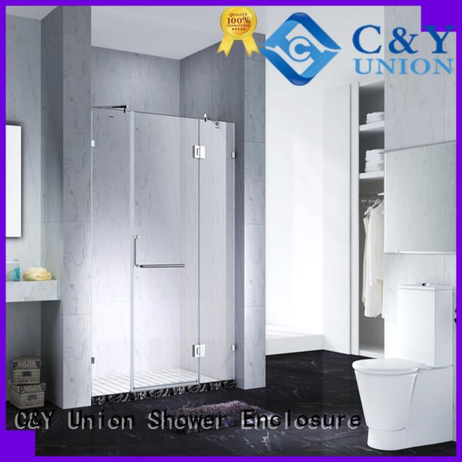 firm frameless glass doors for bathtub