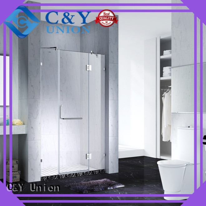elegant frameless glass shower shower screen for bagnio