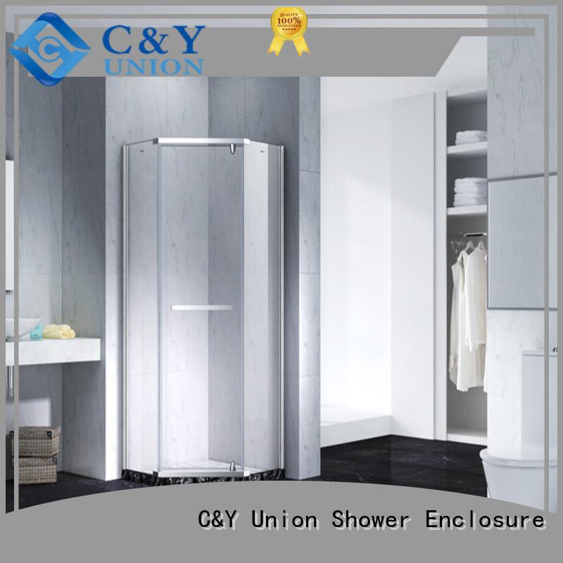 C&Y Union glass shower enclosures cabin for bathroom