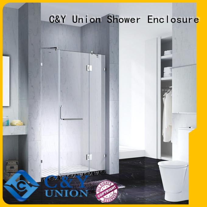 C&Y Union elegant semi frameless shower cy6231 for bagnio