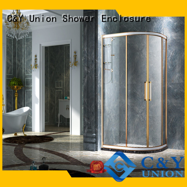 popular semi framed shower manufacturer for alcove