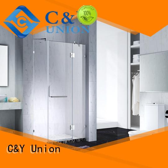 C&Y Union glass shower enclosures shower panels for tub