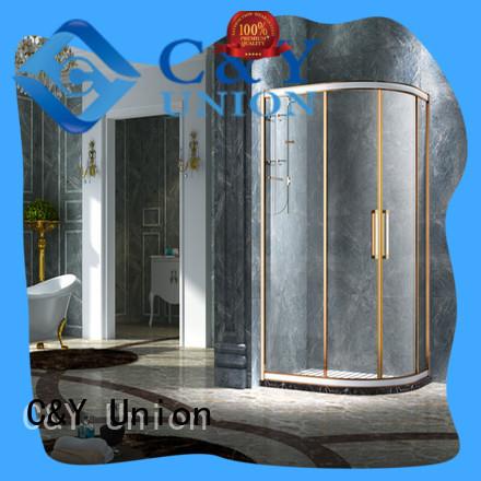 C&Y Union popular custom framed shower doors for tub for bathtub showers