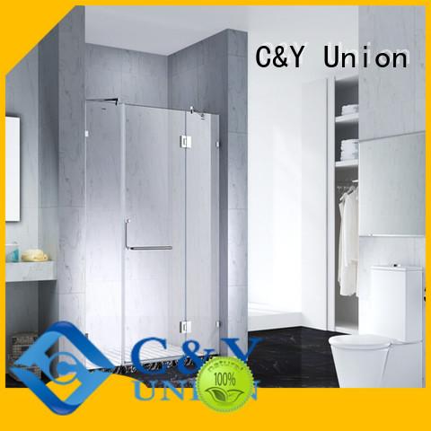 elegant semi frameless shower door for shower room