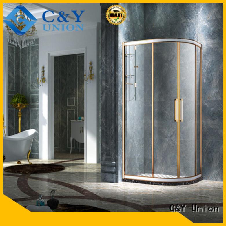 semi framed shower cy2142 for bathroom C&Y Union