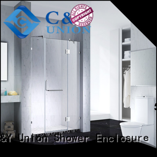 diamond frameless tub doors design bagnio C&Y Union