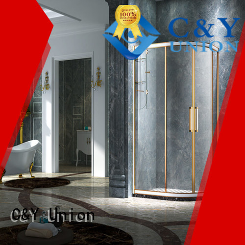 C&Y Union framed glass shower enclosure for sale for shower room