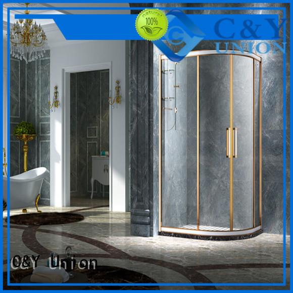 practical framed shower glass doors manufacturer for shower room