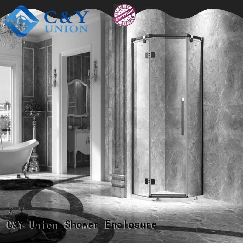 door frameless shower shower panels tub C&Y Union