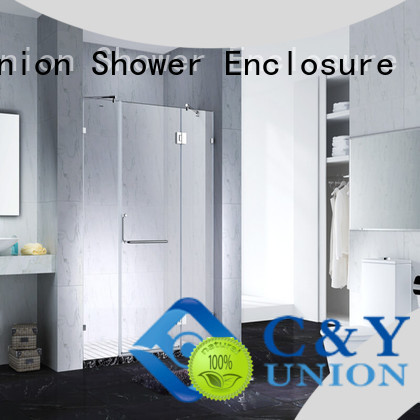 cy3231 frameless glass doors cabin for bathroom C&Y Union