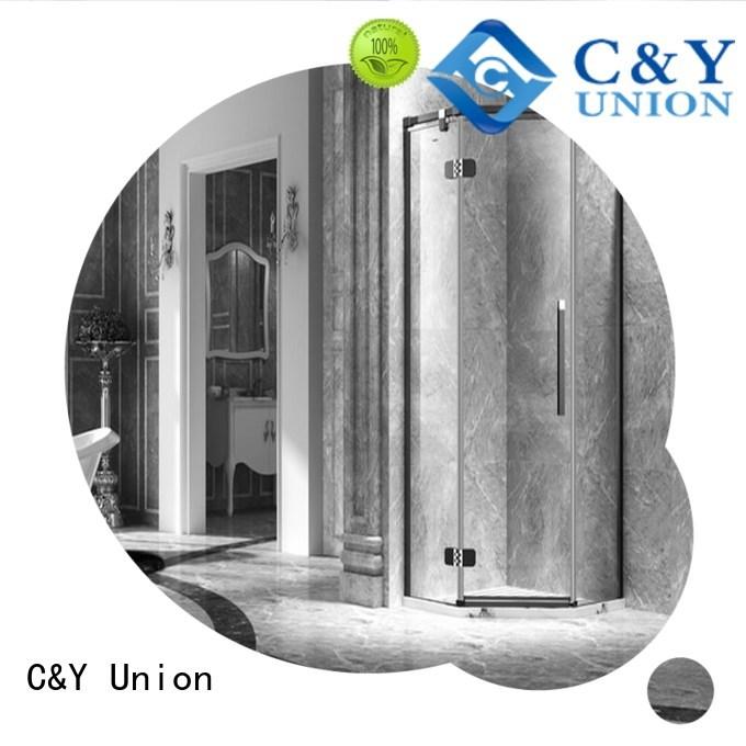 cy3231 frameless sliding glass shower doors cy32311 bagnio C&Y Union