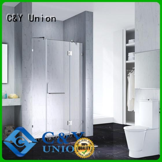 C&Y Union glass shower enclosures shower panels for bath