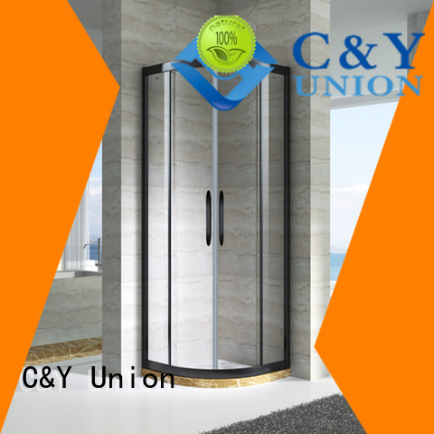 C&Y Union popular framed shower enclosure manufacturer for shower room