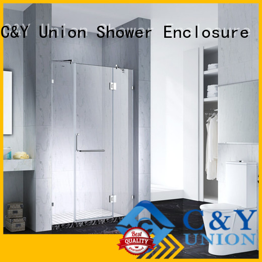 C&Y Union frameless shower for bagnio
