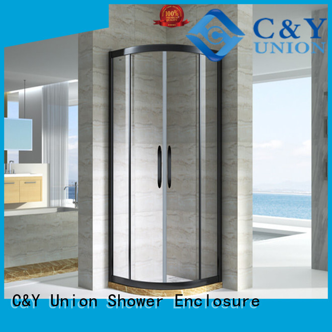 stainless steel shower cabin for standalone showers