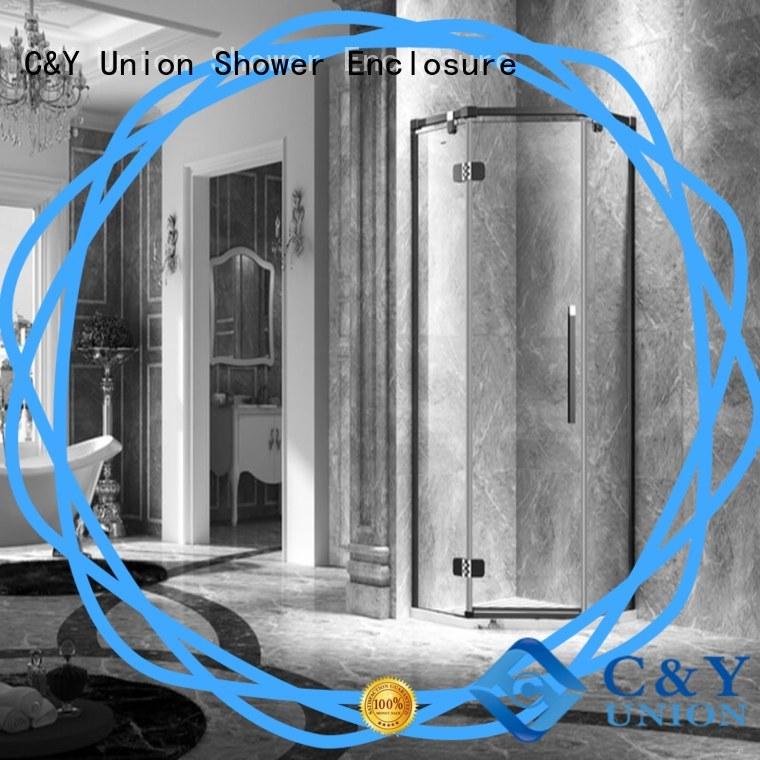 C&Y Union glass shower enclosures easy clean for bathroom