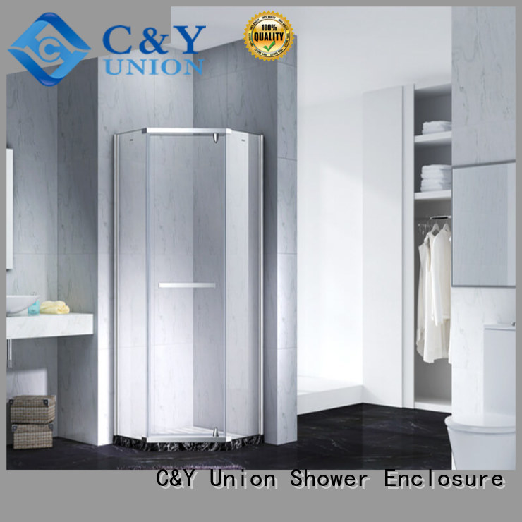 frameless shower screen cubicles for bagnio C&Y Union