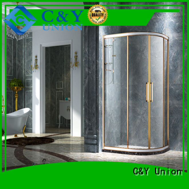 stainless steel framed shower glass doors manufacturer for bagnio