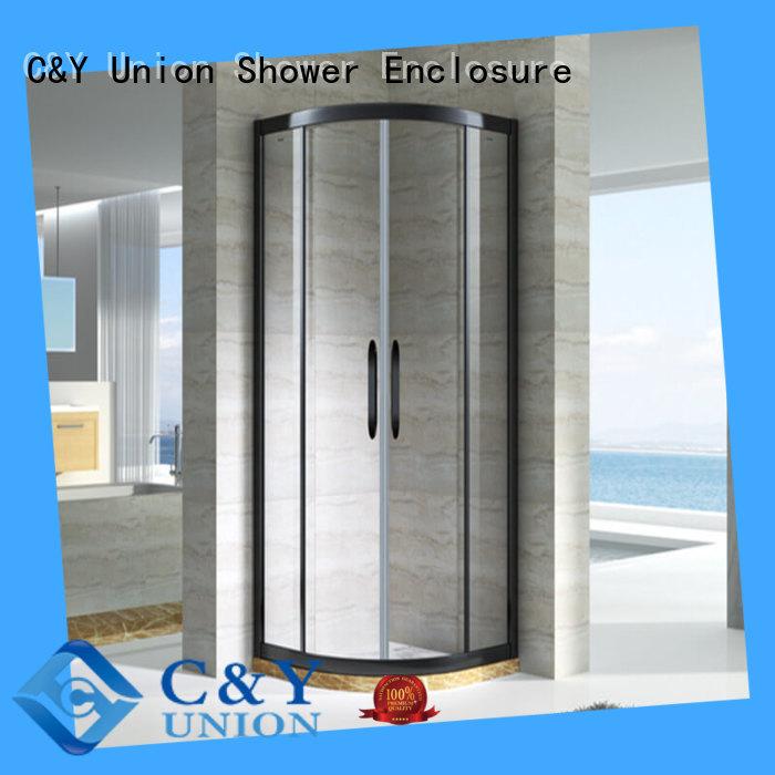 C&Y Union semi framed shower manufacturer for bath