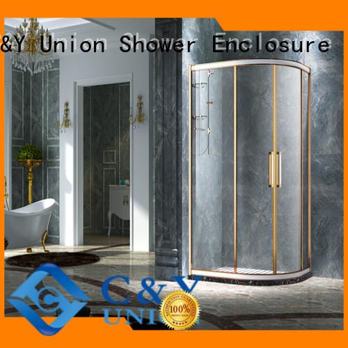 C&Y Union framed shower enclosure for tub for shower room