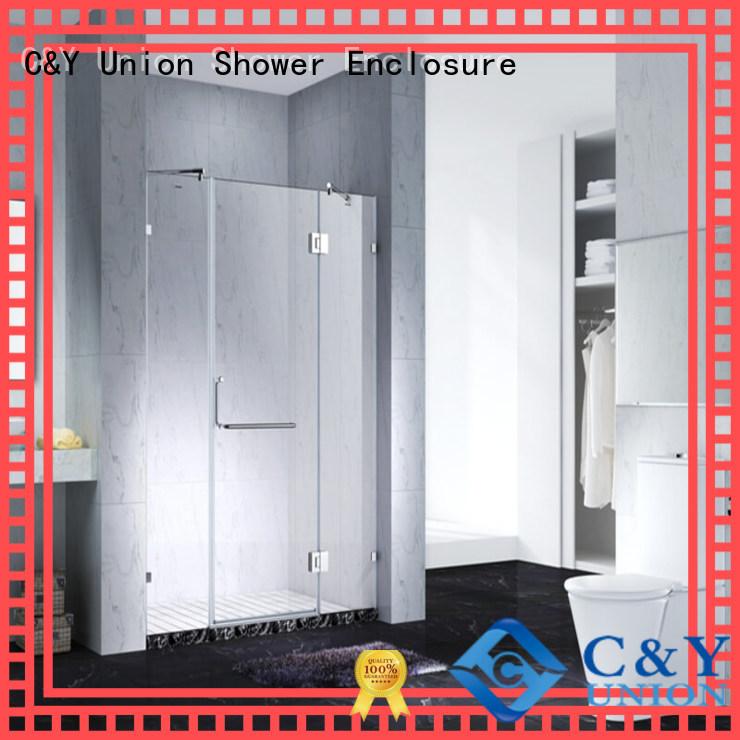 C&Y Union glass shower enclosures for bathtub