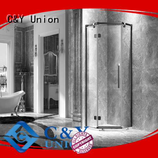high quality frameless shower screen cubicles for bagnio