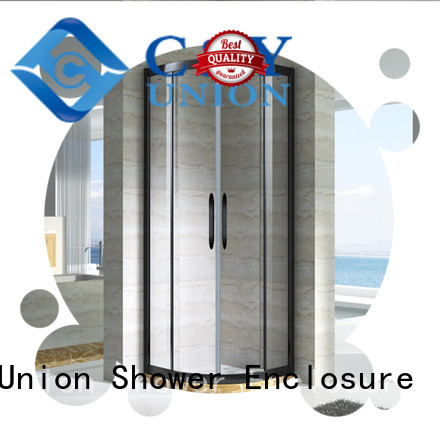 C&Y Union colorful shower cabin with sliding door for corner
