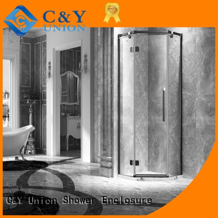 semi frameless shower door design for bagnio C&Y Union
