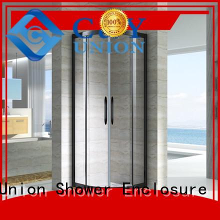 C&Y Union practical framed shower enclosure manufacturer for bathtub showers