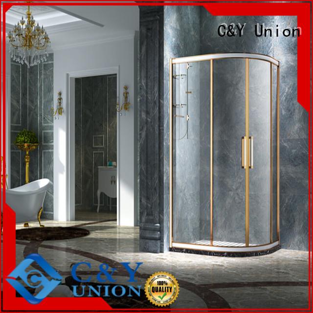C&Y Union semi framed shower for bathroom