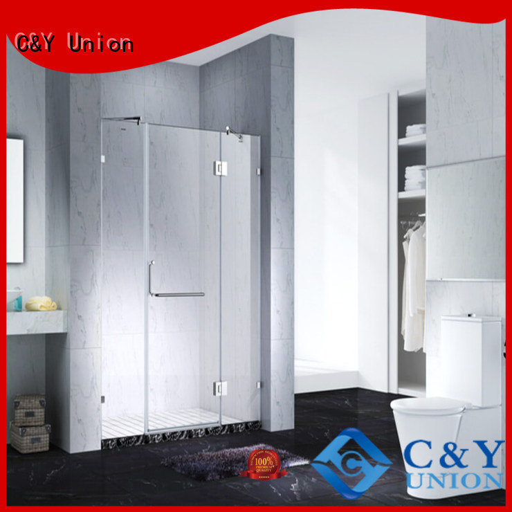 C&Y Union glass shower enclosures shower screen for bathroom