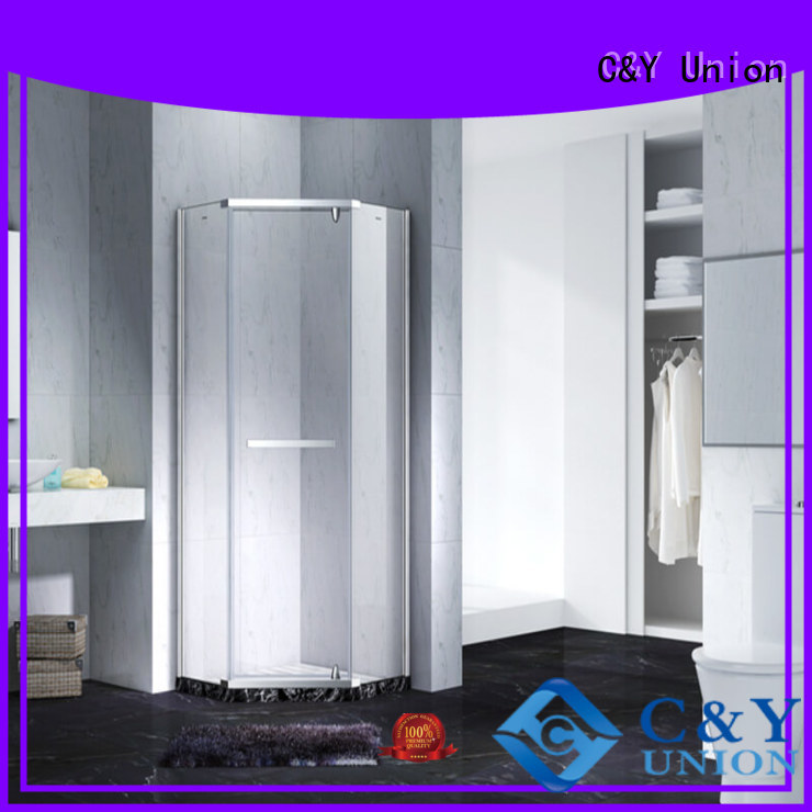C&Y Union glass shower enclosures cabin for tub