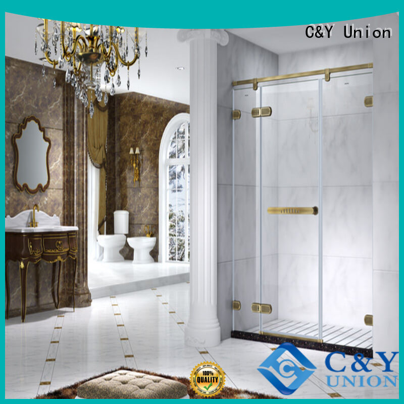 high quality frameless glass shower doors easy clean for bagnio
