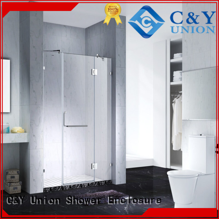 high quality frameless glass shower shower screen for bath