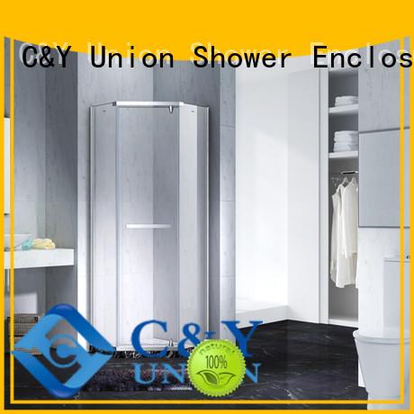 practical semi frameless shower shower screen for tub