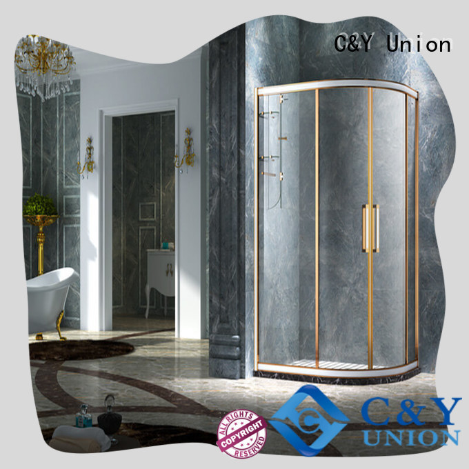 C&Y Union shower cabin with sliding door for bagnio