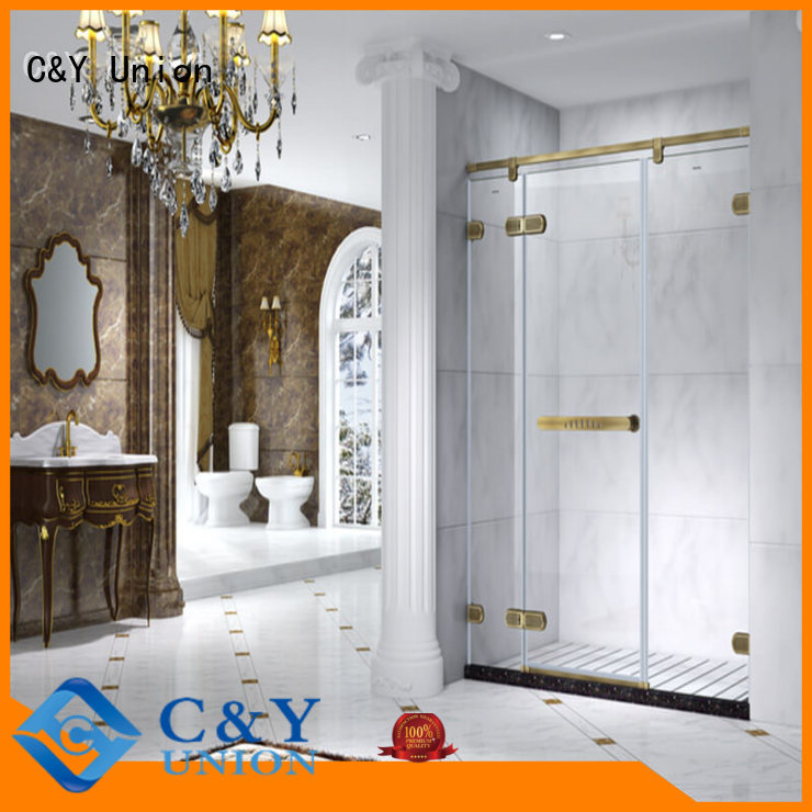 high quality frameless glass shower shower panels for shower room