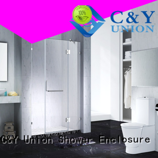 C&Y Union glass shower enclosures cabin for bathroom
