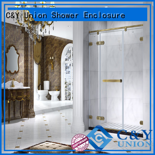 elegant frameless shower enclosure cabin for bathtub